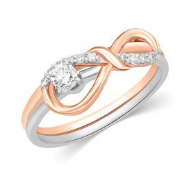 JRS17880F | Euphoric Infinity Diamond Ring