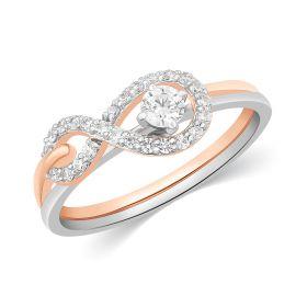 JRS17910T | Rapturous Infinity Diamond Ring