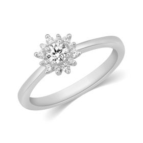 JRW48220Q | Opulent Verve Diamond Ring