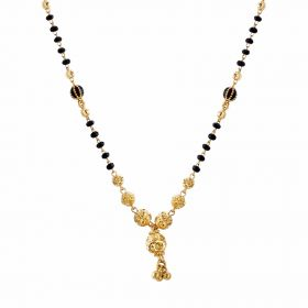 22K Traditional Gold Mangalsutra  SJ1019
