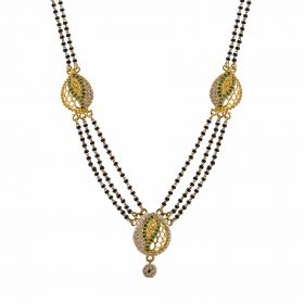 22K Traditional Gold Mangalsutra  SJ1020