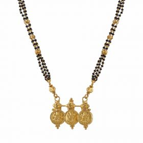 22K Traditional Gold Mangalsutra  SJ1024