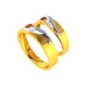 The congenial Couple Ring