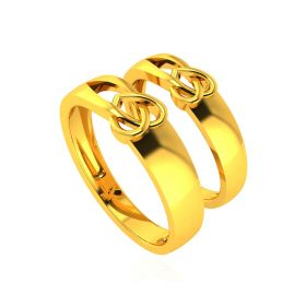 The Love Light Couple Rings