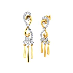 Infinity Chime Gold Dangles
