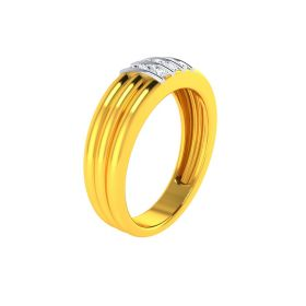 22K Men CZ Ring VGR677
