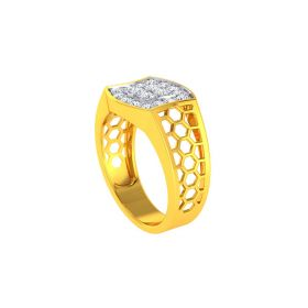 22K Men CZ Ring VGR693