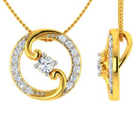 VP 97 | 22k The Circle of Life Gold Pendant