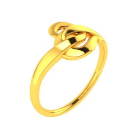 22K The Knotty Affair Gold Ring