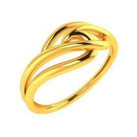 22K Smooth & Silky Gold Ring