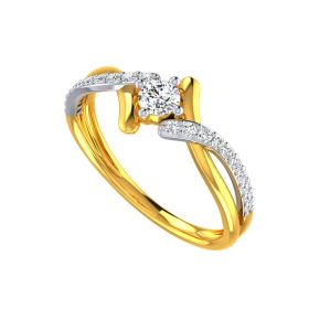Solitaire Spindle Ring