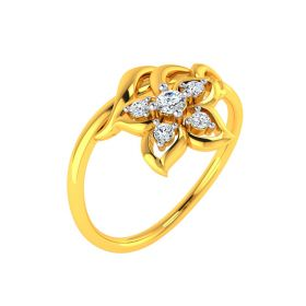 Floral Bliss Diamond Ring