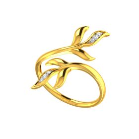 The Curly Vine Ring