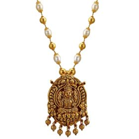 Vikriti Beaded Gold Necklace