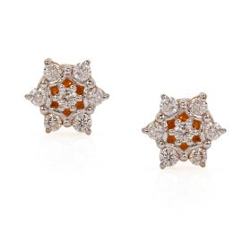 Nakshatra Diamond Stud Earrings