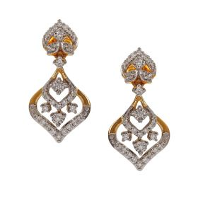 155VG7053 | Exotic Marquise Diamond Danglers Earring