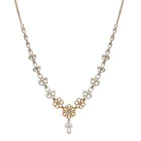 Ravishing Full Bloom Diamond Necklace