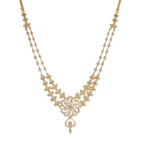 Luminous Charmer Diamond Necklace
