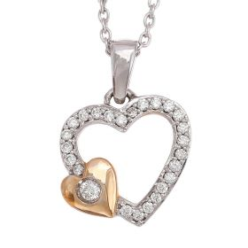 Maternal Love Diamond Pendant