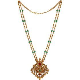 224VG218 | Blooming Royal Gold Necklace