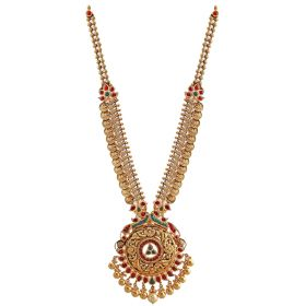 Antique Mugappu Gold Necklace