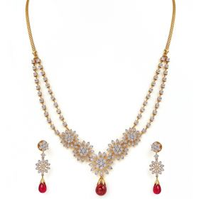 159VG1916 | Artha Diamond Necklace