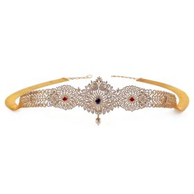 Captivating Embellished Diamond Vaddanam