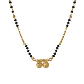 22K Traditional Gold Mangalsutra  SJ1044