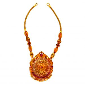 Antique Gold Jewellery Online | Buy South Indian Jewellery - Gold